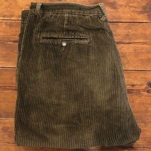 Dark brown corduroy pants size 97 men